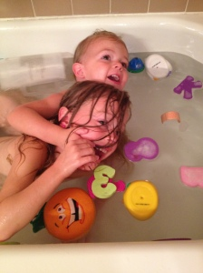 Bath Time Wrestlers.